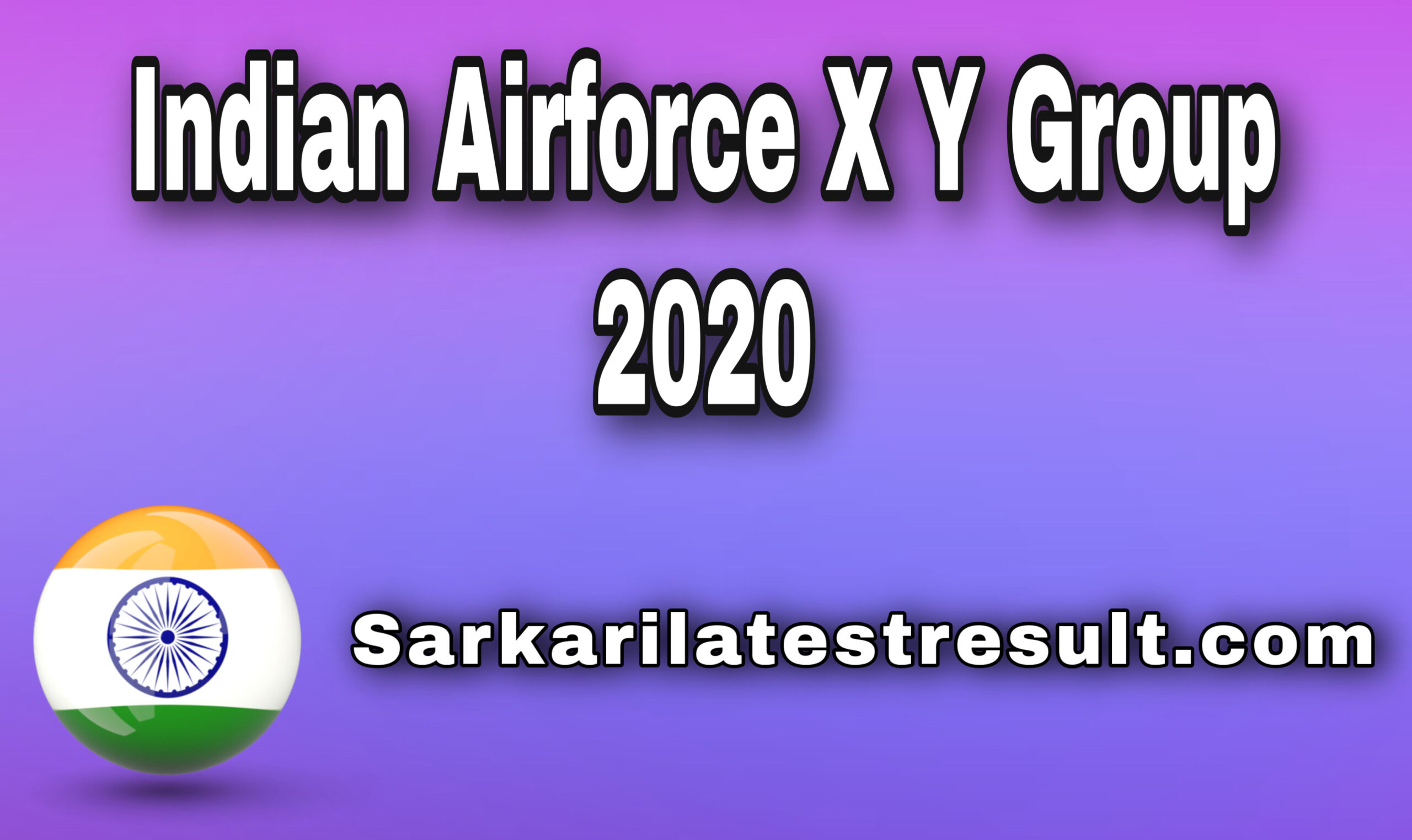 Air Force X Y Group Online Form 2021